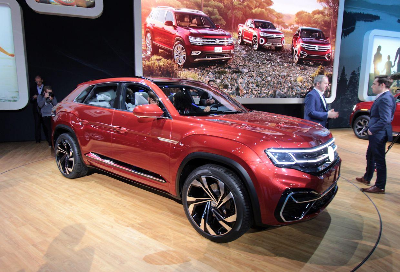 Der Atlas Cross Sport von Volkswagen ist eine auf fünf Sitze beschränkte Version des großen SUVs.