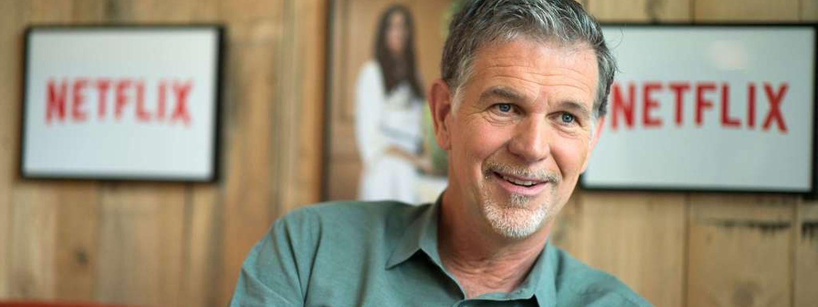 Reed Hastings will, dass in fünf bis zehn Jahren ein Drittel aller Haushalte in Europa Netflix beziehen.