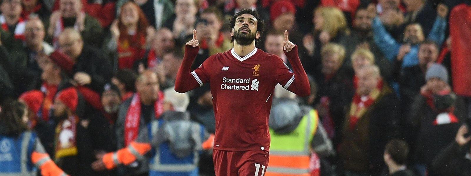 Mohamed Salah war im Halbfinal-Hinspiel wieder einmal nicht aufzuhalten.