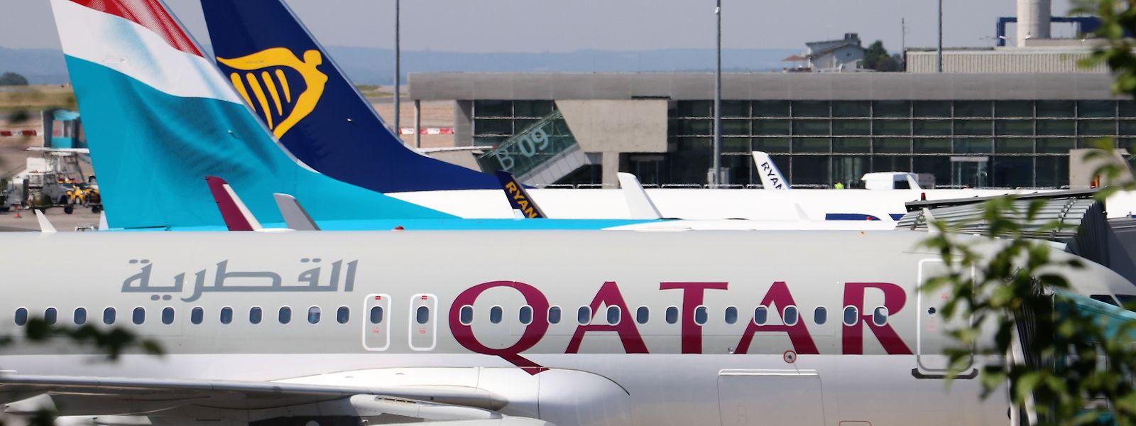Qatar Airways ist auch auf dem Findel aktiv.