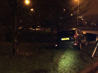 Gegen 2 Uhr war der Wagen den Beamten aufgefallen.