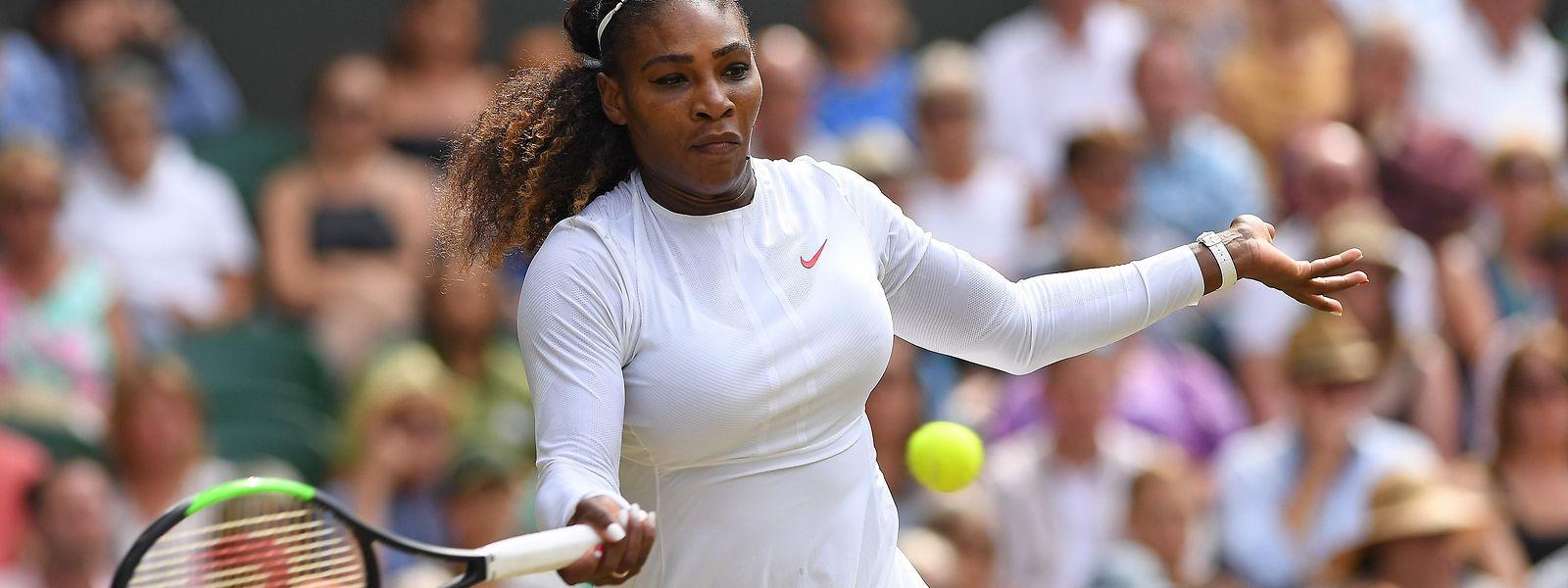 Serena Williams disputera samedi sa dixième finale à Wimbledon