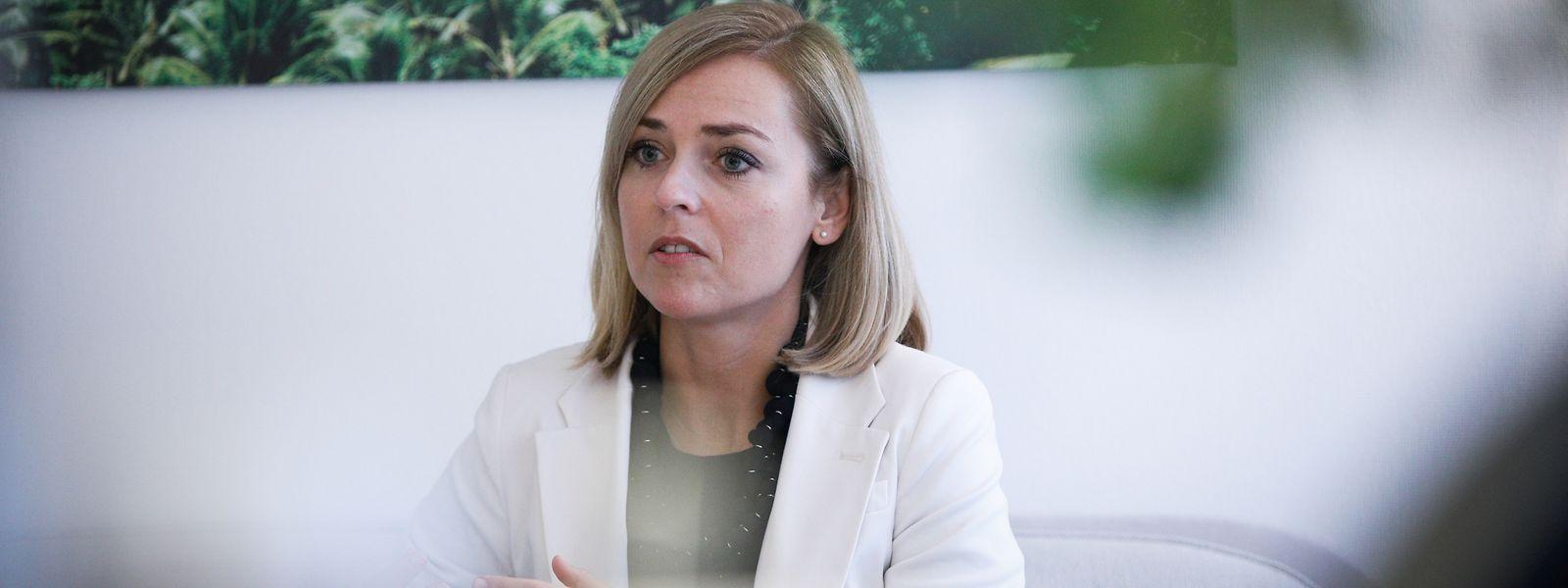 Wartet noch immer auf die neuen Bebauungspläne von 14 Gemeinden: Innenministerin Taina Bofferding (LSAP)