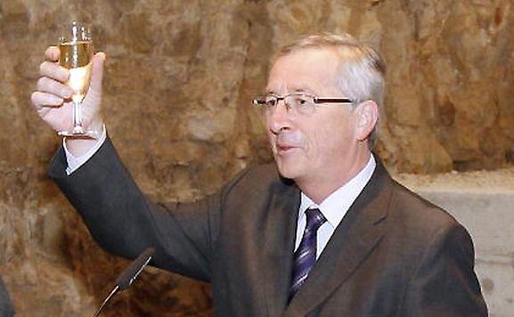 Premier Juncker blickte auf das Jahr 2012 zurück, das für die Luxemburger Presse sicherlich kein Jubeljahr war.