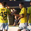 Nicolas Perez (F91 - 28) - Leon Jensen (F91 - 45) / Fussball BGL Ligue Luxemburg, 1. Spieltag Saison 2018-2019 / 06.08.2018 / FC RM Hamm Benfica - F91 Dudelange / Stade du Cents / Foto: Yann Hellers