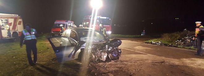 Der 81-jährige Fahrer aus Luxemburg überlebte den Unfall nicht.