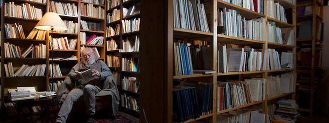 L'auteur dans son «atelier»