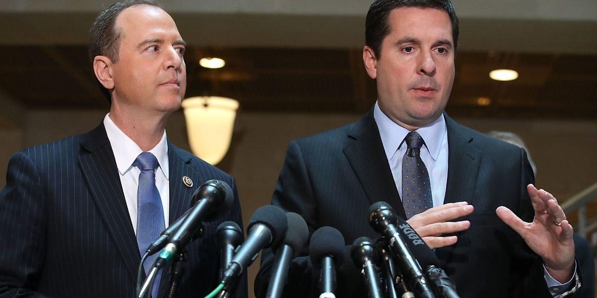 Devin Nunes, le président de la commission du renseignement de la Chambre des représentants américaine: il n'y a aucune «preuve de collusion.»