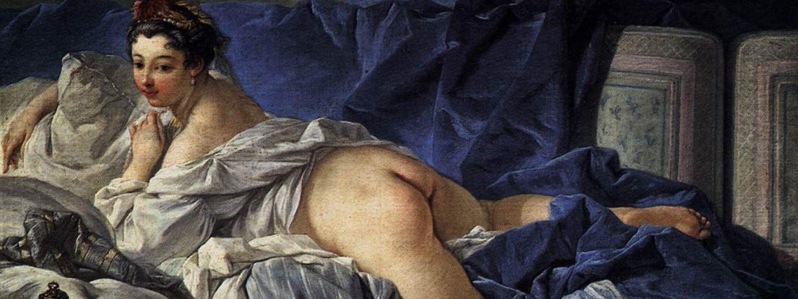 """""""L'Odalisque Brune"""" von Boucher ist eines der Bilder, die Kunstlehrer Mateo Rueda den Job kosteten. Das Original hängt im Louvre."""