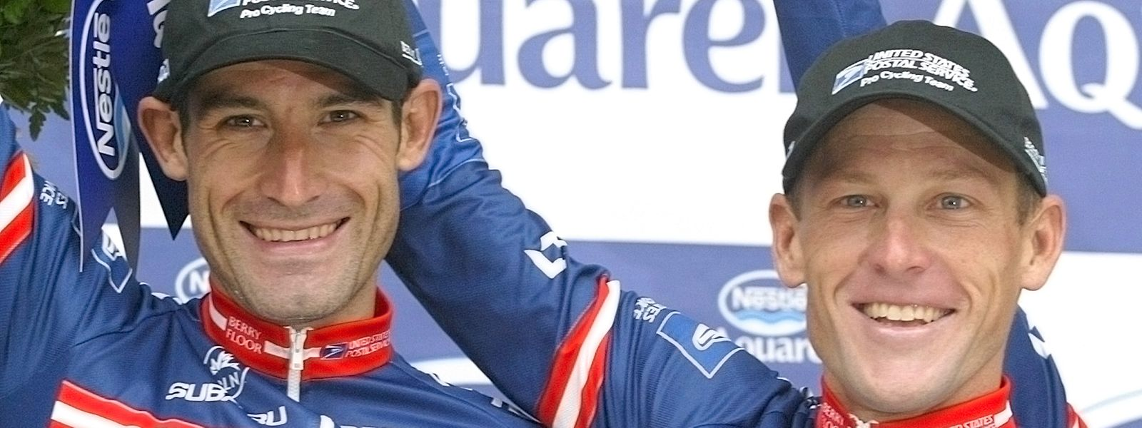 Lance Armstrong (à dr.) coorganise l'événement «The Move Mallorca 2020» en compagnie de son compatriote George Hincapie (à g.)