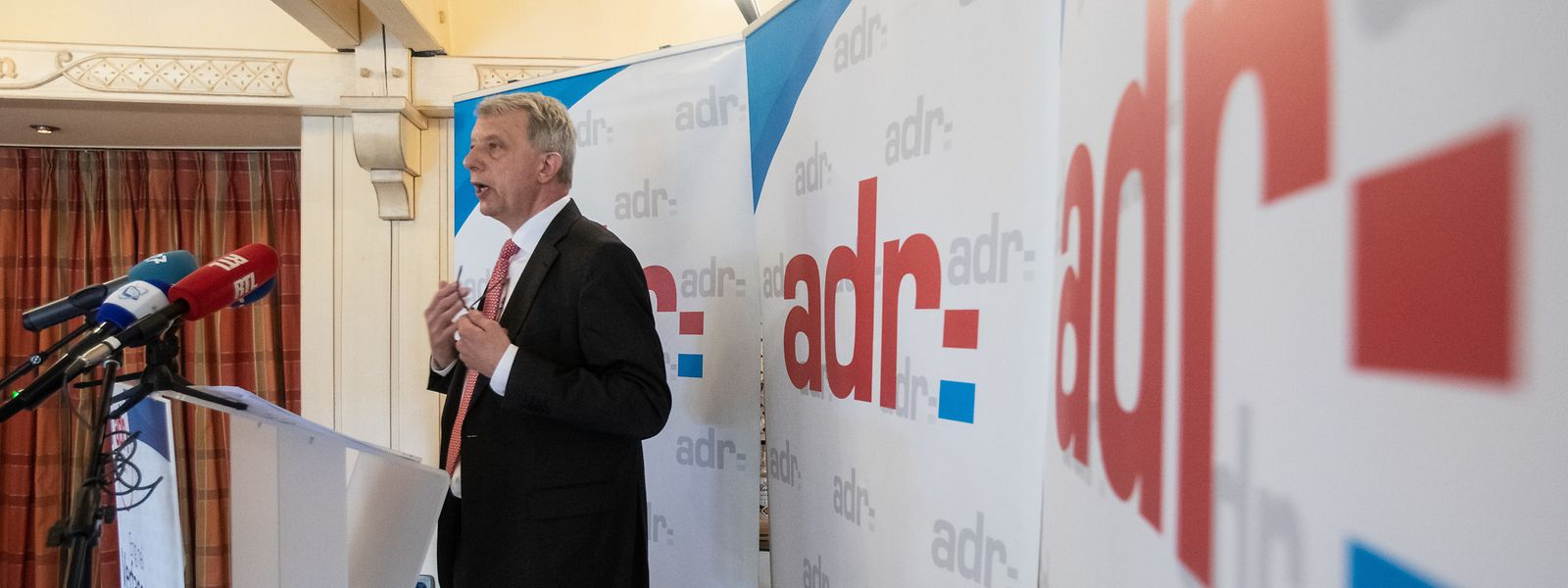 Für Fernand Kartheiser und die ADR muss es ein Referendum zur Verfassungsreform geben.
