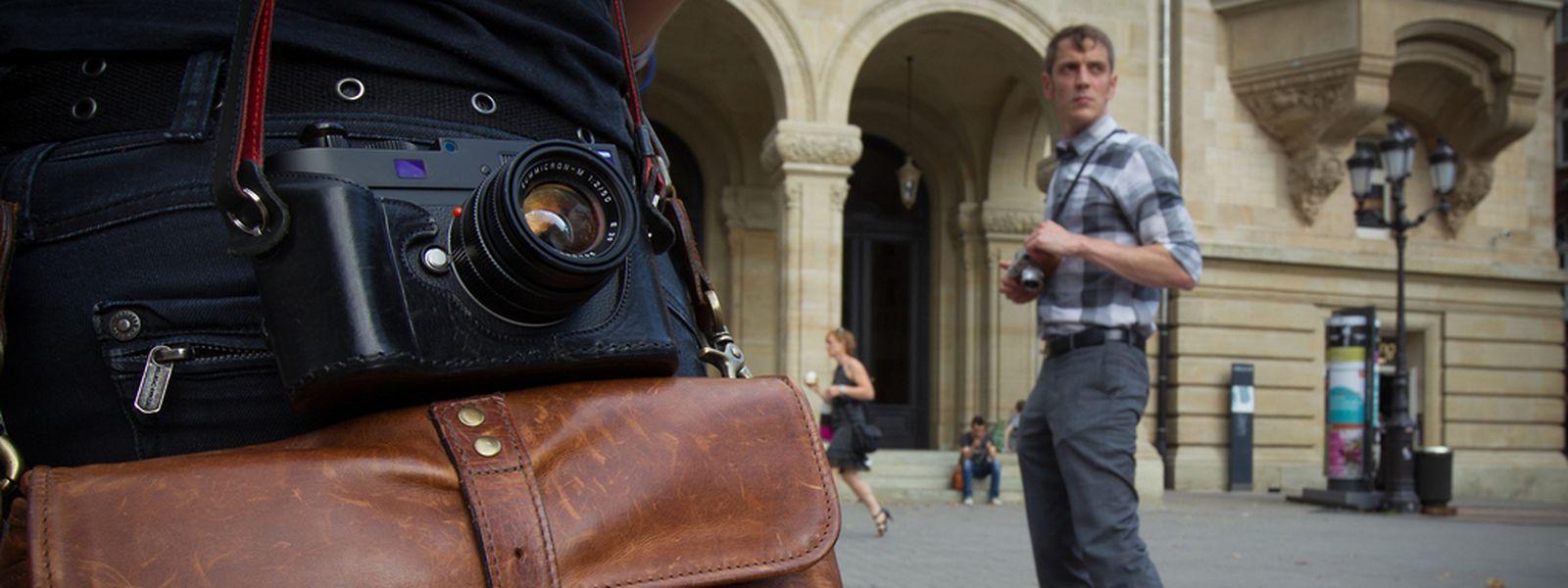"""Freude am Bild: Im August hatte """"Télécran"""" das Künstlerkollektiv """"Street Photography Luxembourg"""" auf einem ihrer Streifzüge begleitet."""