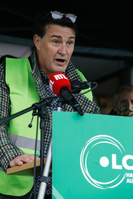 Guy Pelletier, Präsident der Personaldelegation von Saint-Paul-Luxembourg S.A.