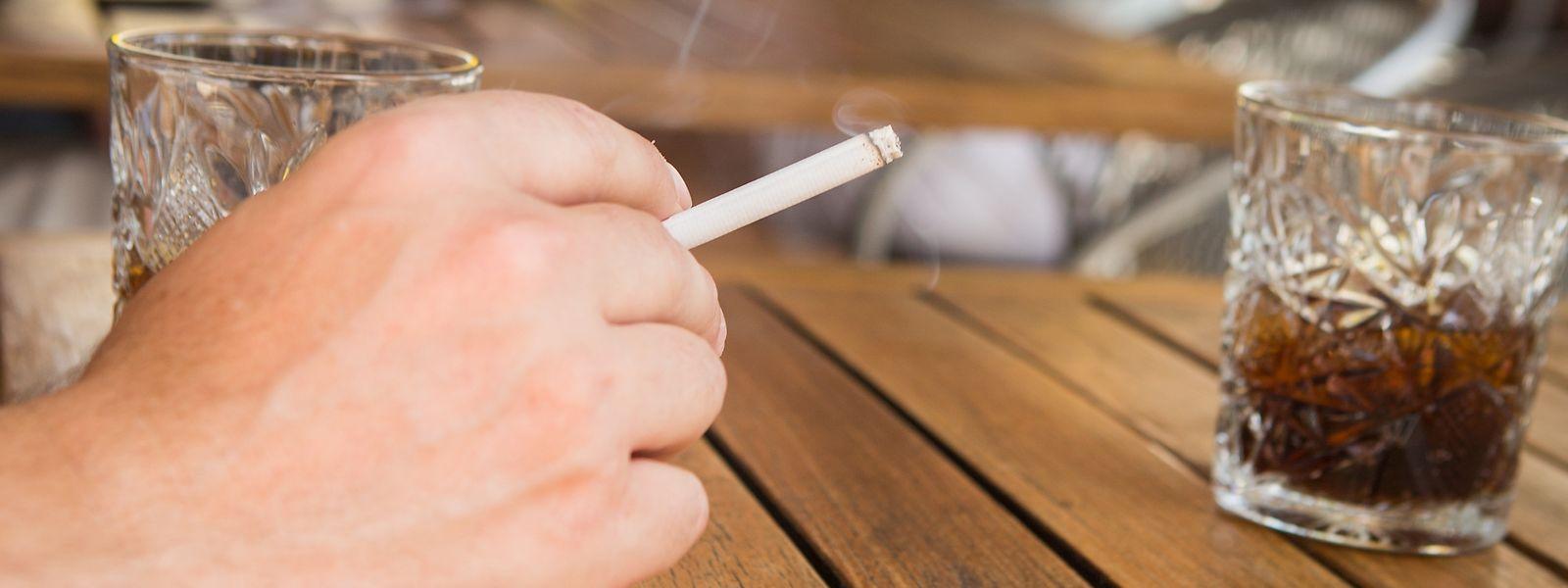 Rauchverbot auf öffentlichen Terrassen kann bald in der Chamber debattiert werden.