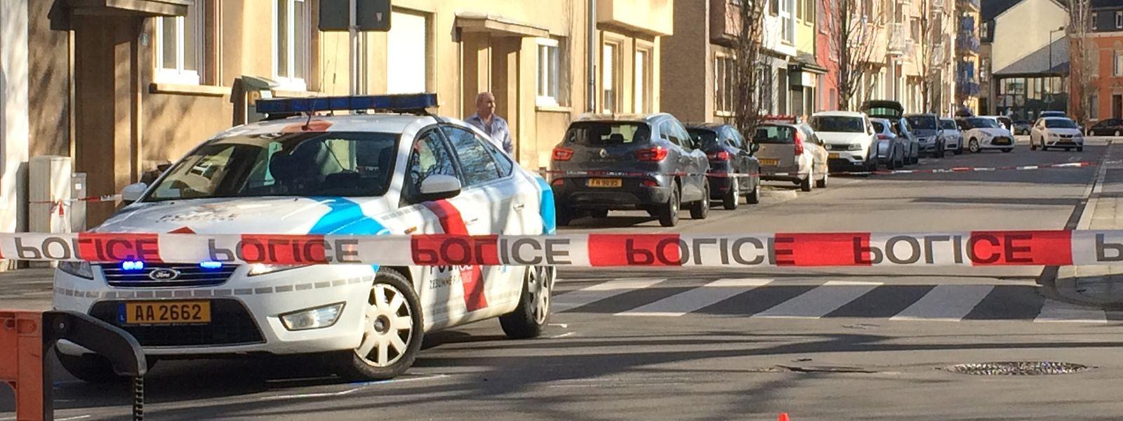 Die fatalen Schüsse waren am Nachmittag des 11. April an der Ecke der hauptstädtischen Rue Sigismond mit der Rue des Ardennes gefallen.