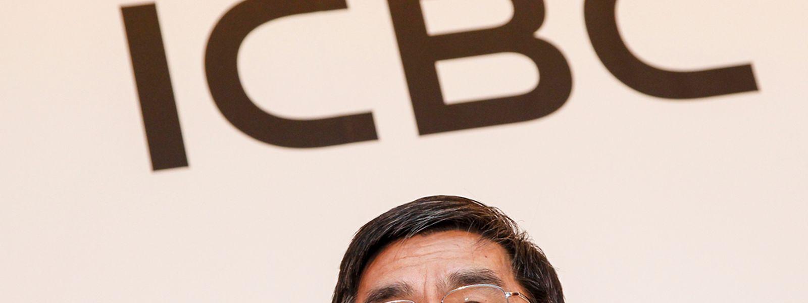 Le président de ICBC, Jiang Jianqing, avait fait le déplacement à Luxembourg pour l'inauguration de la chambre de compensation en RMB