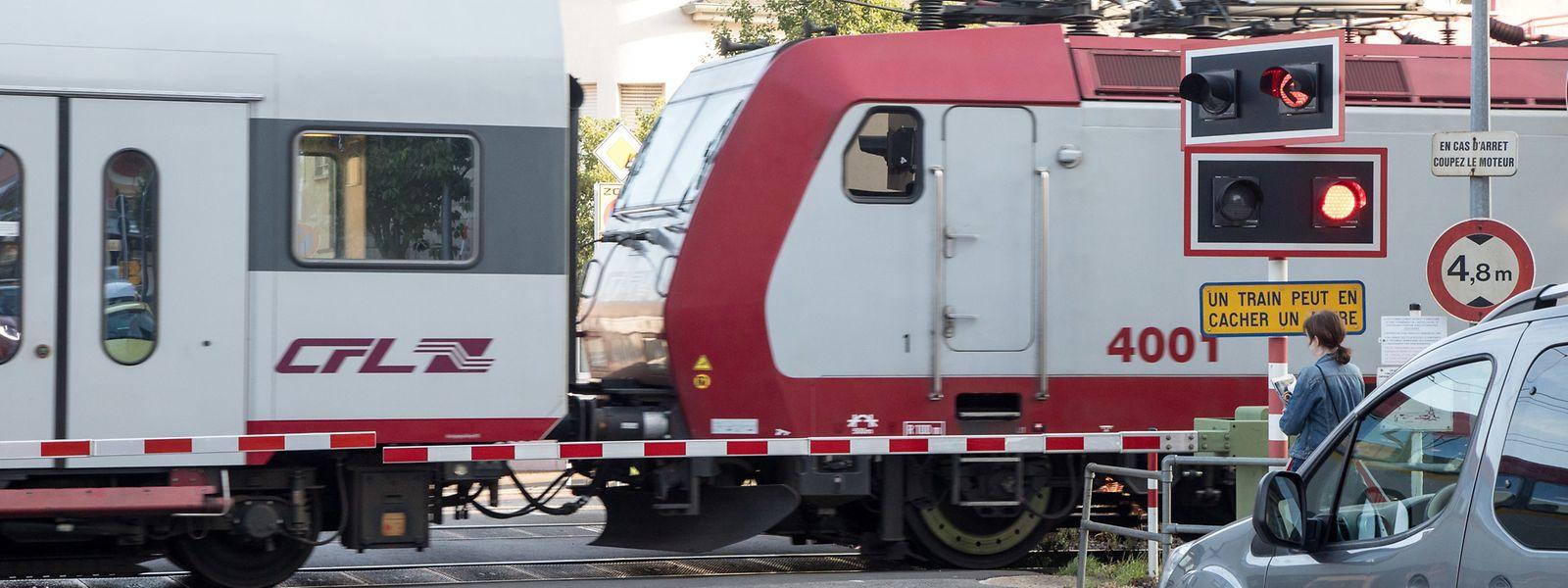 Vom 26. September an, werden die beiden Bahnschranken im Ortszentrum für den motorisierten Verkehr geschlossen bleiben.