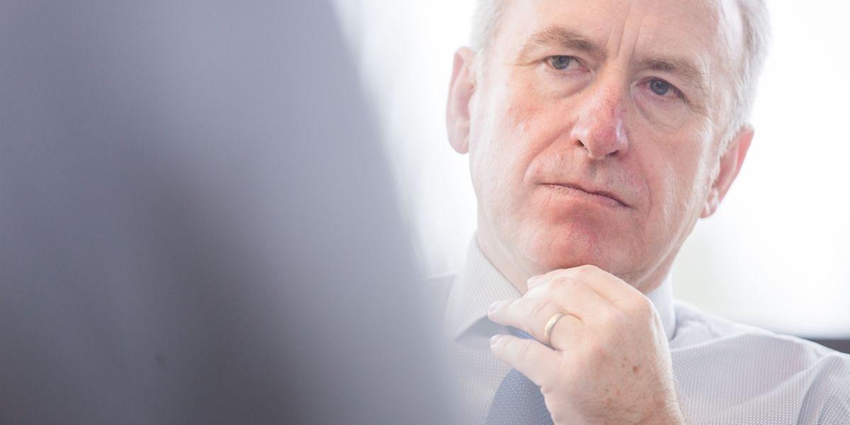 Interview Jeannot Fürpass neuer Bürgermeister von Monnerich, Foto Lex Kleren