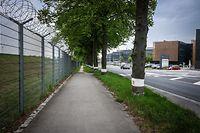 """Das Opfer und die beiden Beschuldigten waren zur Obdachlosenunterkunft der """"Wanteraktioun"""" in Findel unterwegs."""