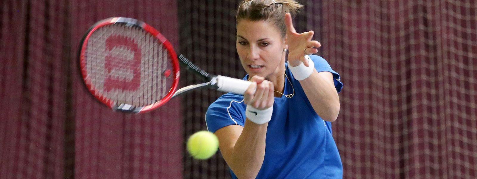 Mandy Minella a souffert pour venir à bout de la coriace Ukrainienne Anastasiya Vasylyeva à Séville