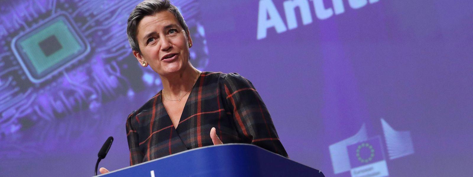 La Commissaire à la Concurrence, Margrethe Vestager souhaite «répondre aux besoins persistants des entreprises».
