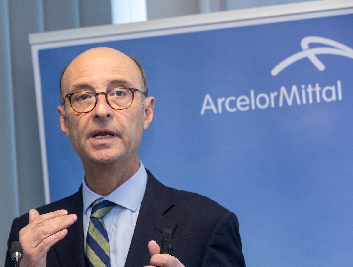 """Michel Wurth, Präsident von ArcelorMittal Luxembourg: """"Europäische Hersteller sind unter Druck""""."""