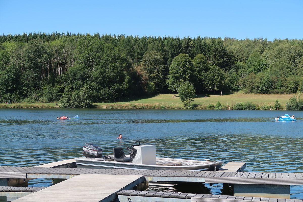 Weiswampach lakes for swimming, fishing and watersports