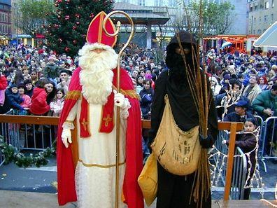 Saint Nicolas and the Christmas Bogeyman or Kleeschen & Housécker