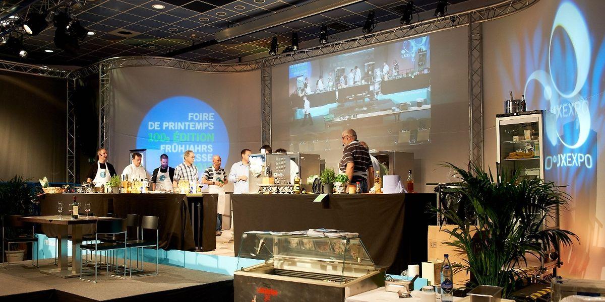 La Foire de Printemps est l'unique foire grand public dédié à la cuisine aménagée au Luxembourg.