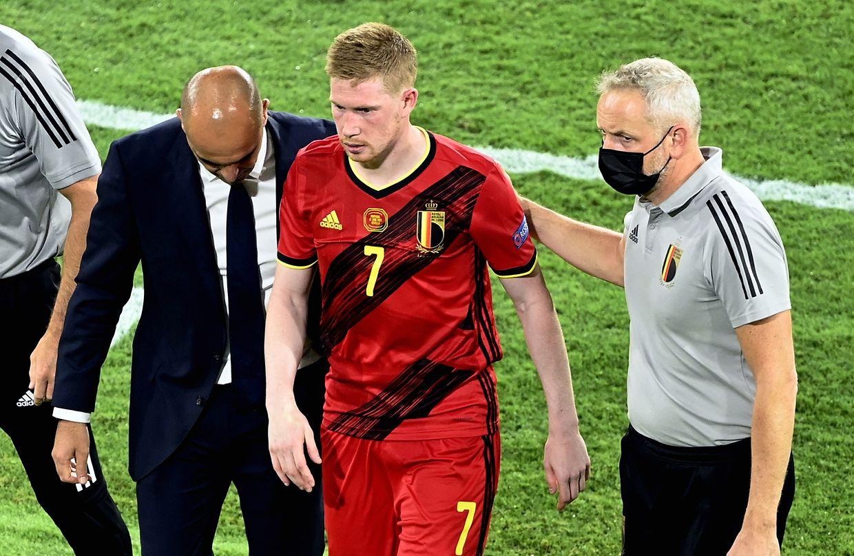 Pas certain que Kevin De Bruyne ait pu recouvrer tous ses moyens pour le dernier quart de finale de l'Euro. Son sélectionneur l'a privé d'entraînement collectif ces derniers jours. Coup de bluff?