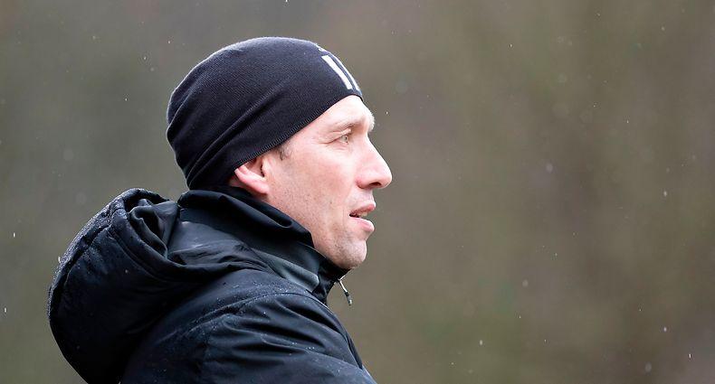 Jeff Strasser (Trainer Fola) / Fussball, Nationdivision, Titus Petingen - Fola / 08.03.2020 / Petingen / Foto: Christian Kemp