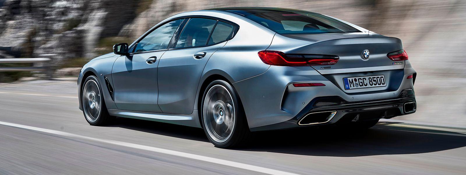 Mit seiner Sportwagen-Charakteristik ist auch das BMW 8er Gran Coupé auf maximale Performance-Eigenschaften ausgerichtet.