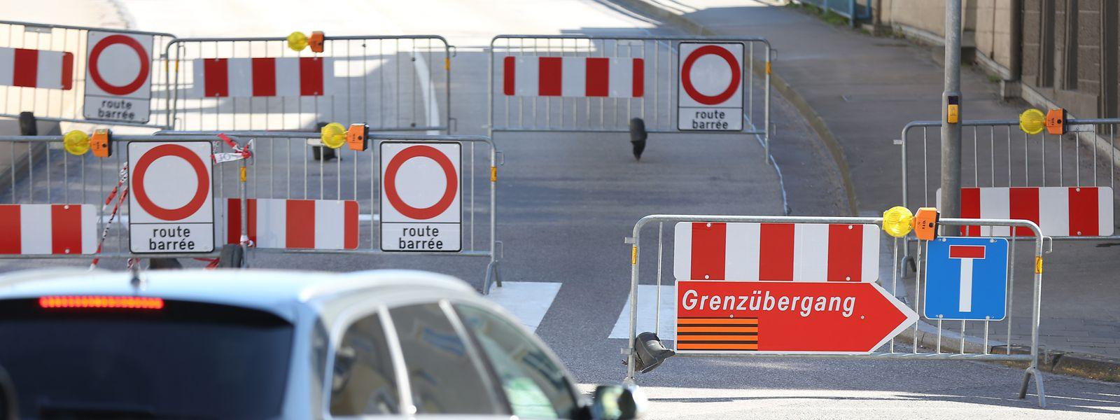 Einige Grenzübergänge von Luxemburg nach Deutschland (im Bild: Remich) sind seit Mitte März komplett geschlossen.