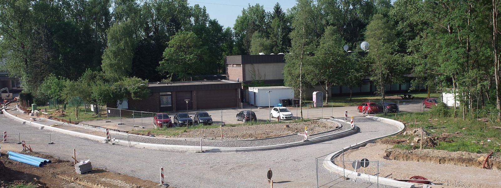 Derzeit wohnen 60 Personen in der früheren Ediff-Schule.