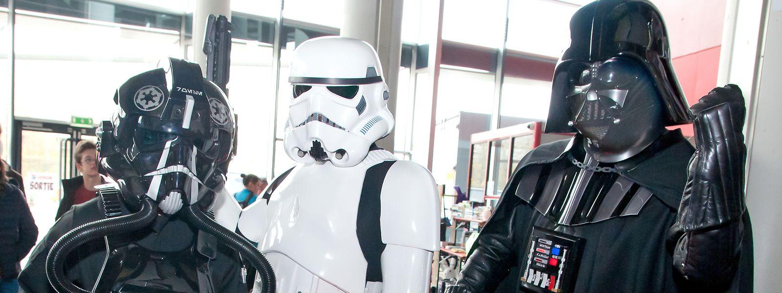 Darth Vader und Co wussten Star-Wars-Fans zu begeistern.