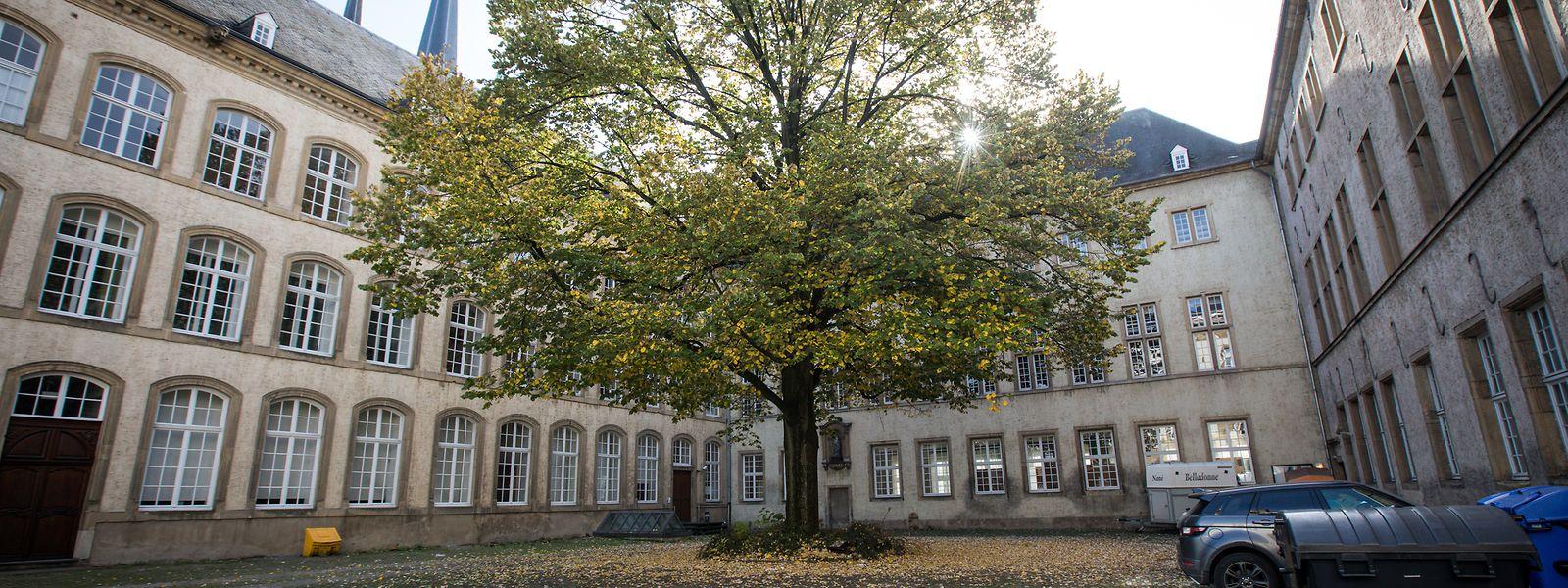 Gleich neben der Kathedrale in der Rue Notre-Dame steht das ehemalige Gebäude der Nationalbibliothek.
