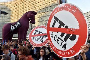 """Für den 8. Oktober ist eine Großdemo der Plattform """"Stop TTIP"""" in Luxemburg anberaumt."""