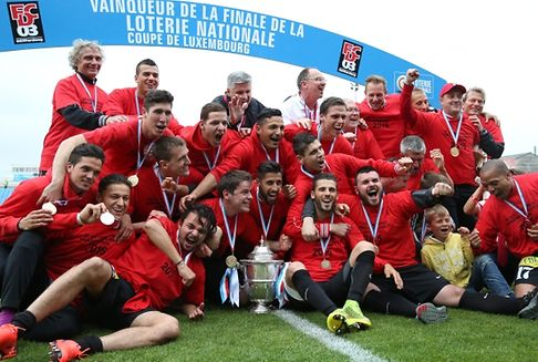 Football: Differdange triumph in Coupe de Luxembourg