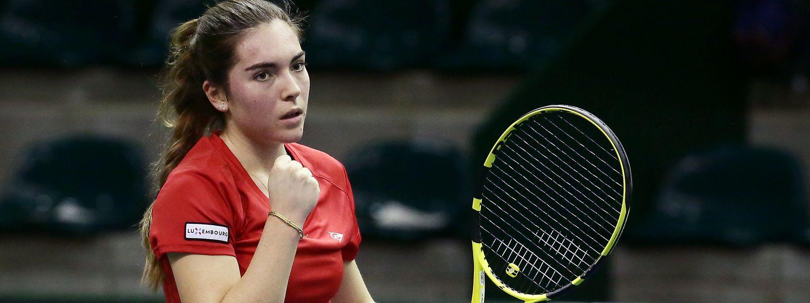 Eléonora Molinaro kann sich über Turniersieg Nummer drei freuen.
