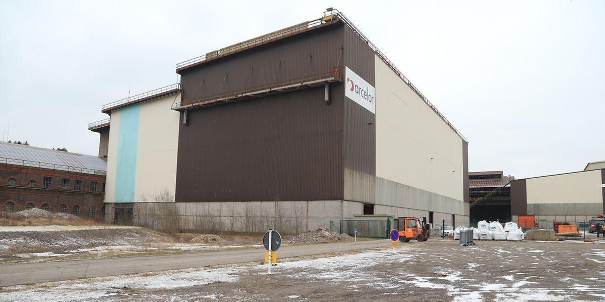 """Die Düdelinger Stahlwerkshalle wird von der Denkmalschutzbehörde als """"nicht unbedingt erhaltenswert"""" angesehen."""