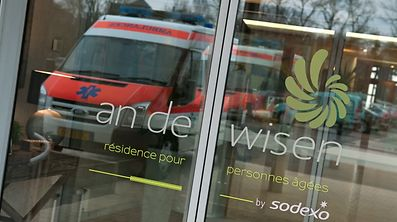 CP OGBL décision scandaleuse de la maison de soins ?An de Wisen? Bettembourg. / Foto: Alain PIRON
