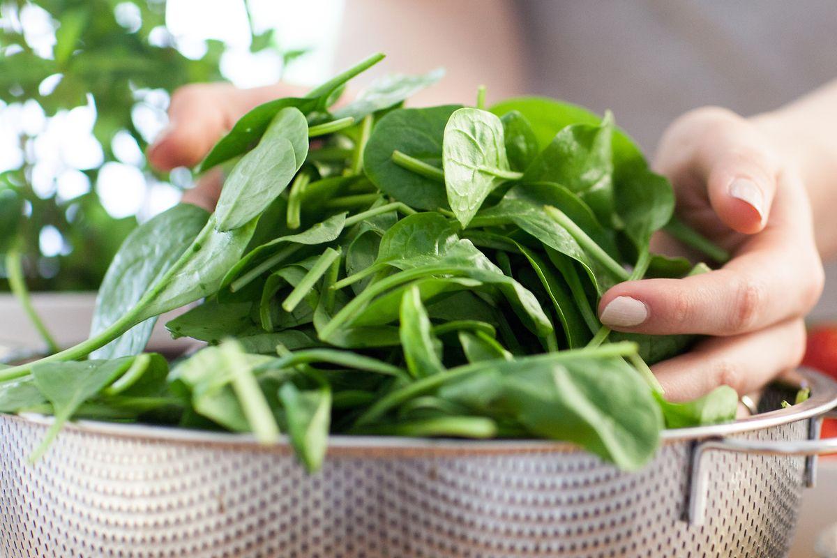 Frischer Spinat schmeckt auch aufgewärmt. Voraussetzung ist nur, dass er nach dem Kochen schnell im Kühlschrank landet.