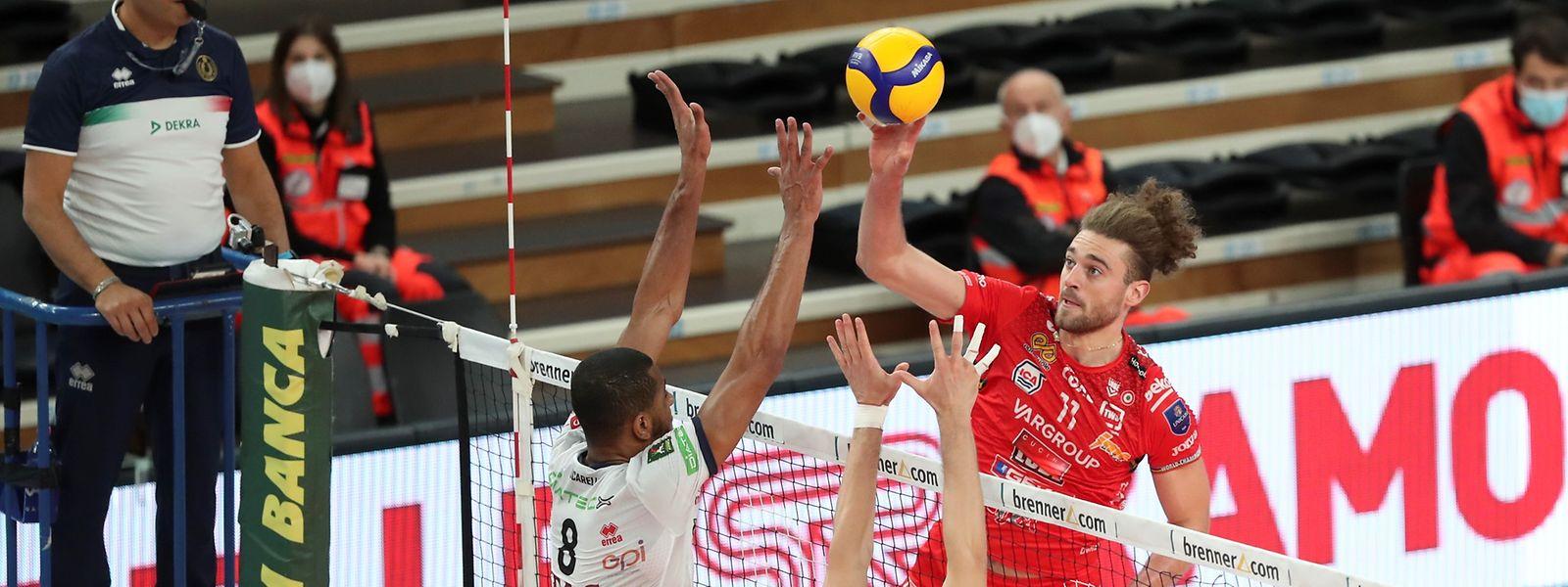 Kamil Rychlicki spielt seit zwei Jahren in Civitanova.