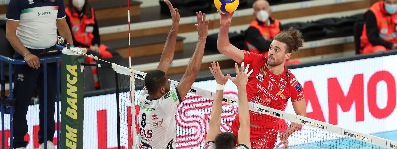 Kamil Rychlicki erzielt 13 Punkte.