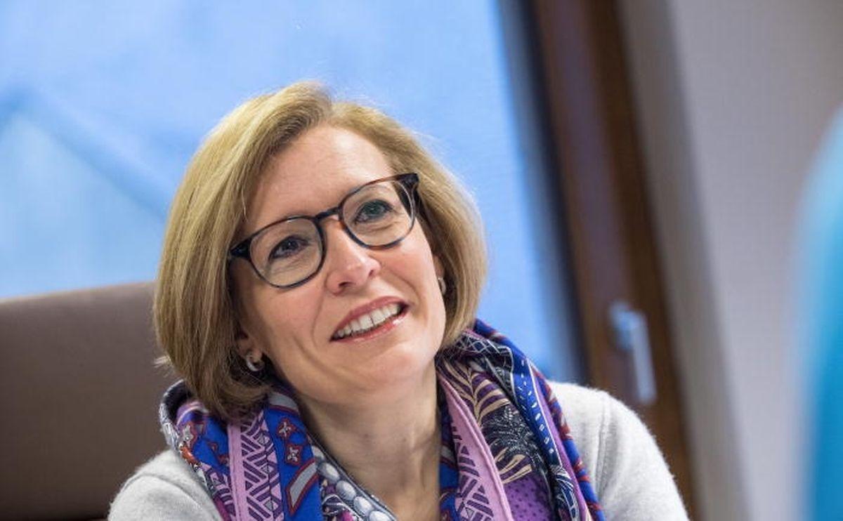 Diane Adehm: «Je sais que beaucoup de mes collègues veulent être ministre. Moi, je veux avoir un bon score et être réélue» le 14 octobre 2018.