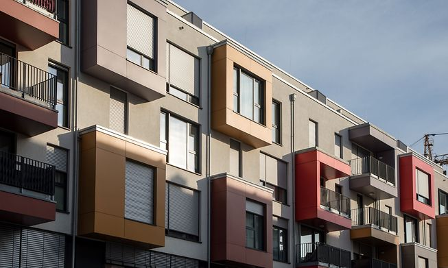 Prices for apartments rose by 15% last year and many estate agents now offer an online evaluation tool