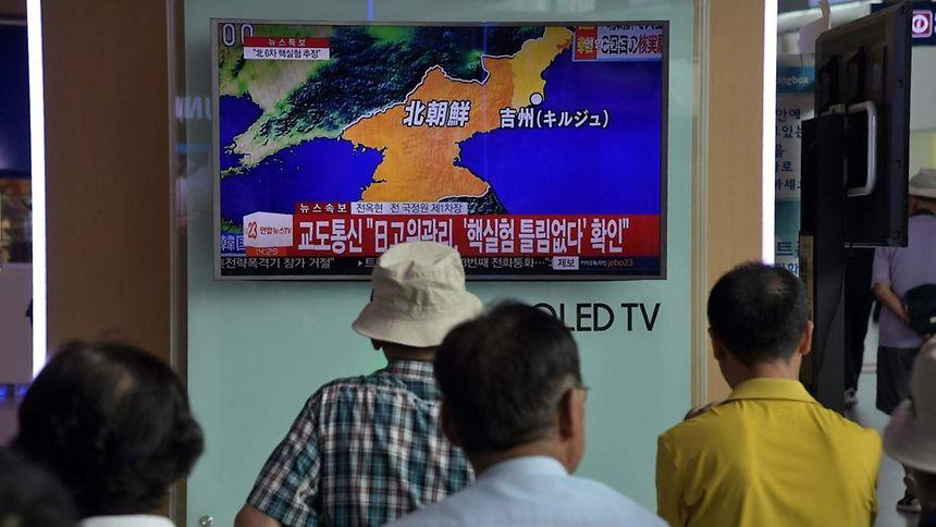 USA drohen Nordkorea nach Atomtest