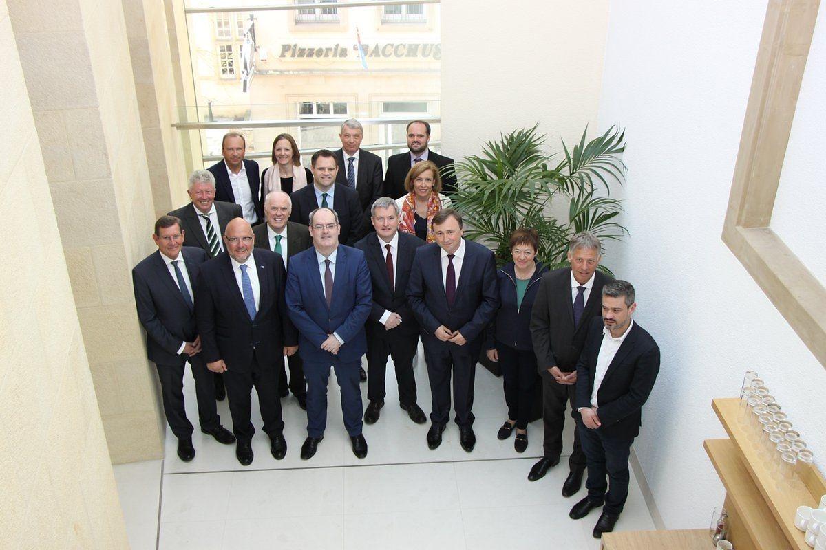 Die irischen Amtsträger trafen sich am Dienstag mit luxemburgischen Parlamentariern.