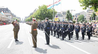 Nationalfeierdag 2017 / Parade / Luxembourg / Photo: Blum Laurent