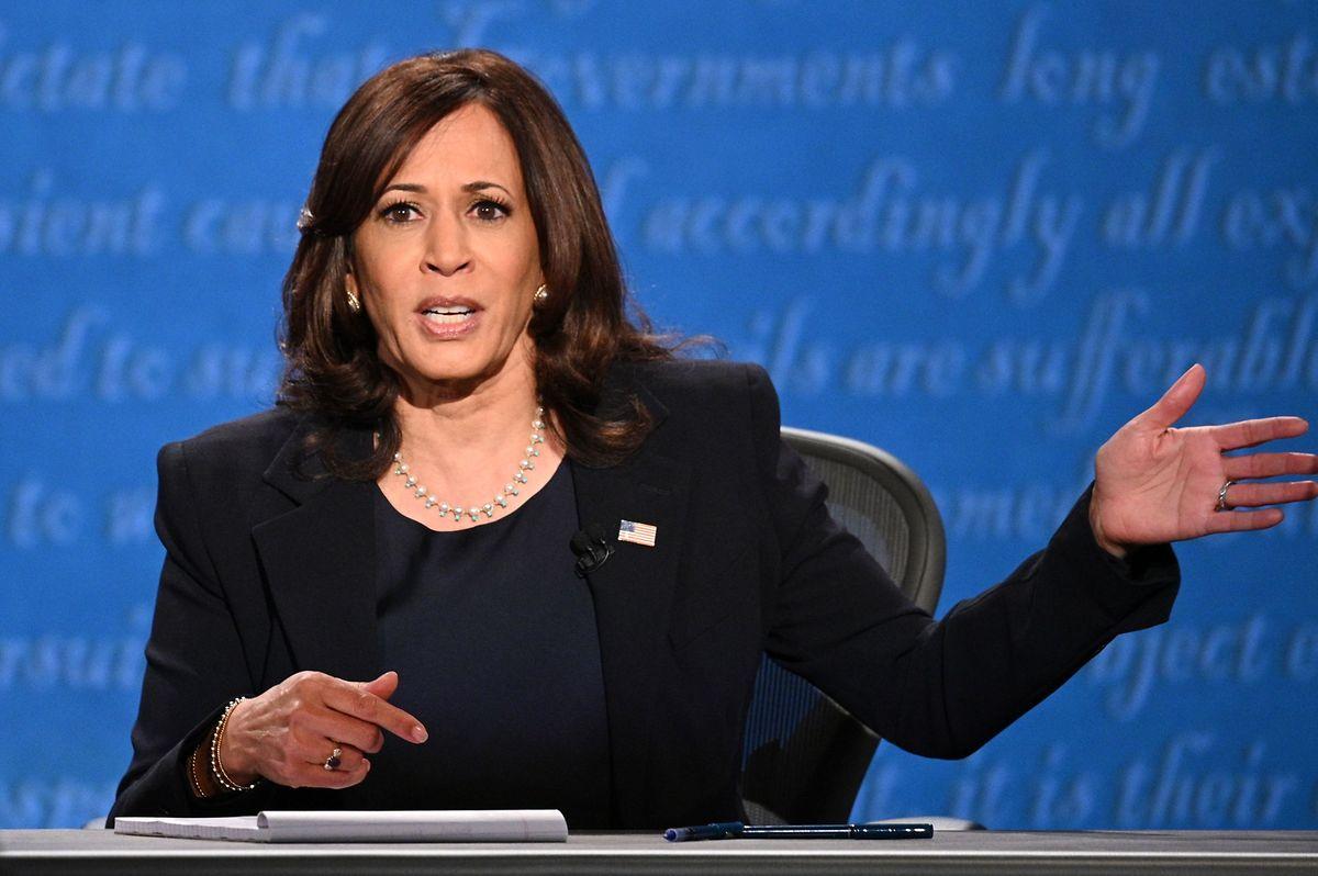 """Kamala Harris:  """"Joe Biden wird für niemanden die Steuern erhöhen, der weniger als 400.000 Dollar im Jahr verdient."""""""